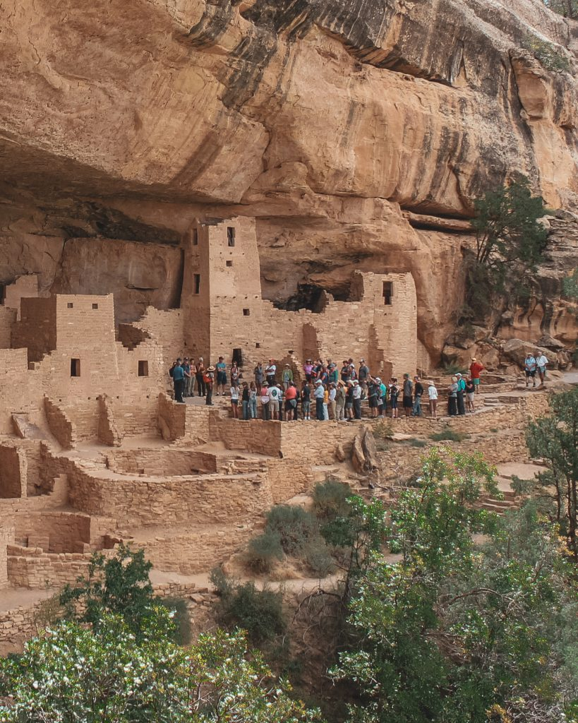 Guided Ranger Tour at Mesa Verde