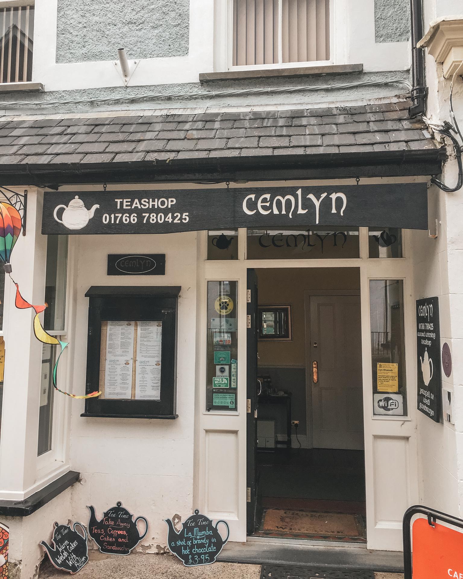 Cemlyn Tea Shop in North Wales