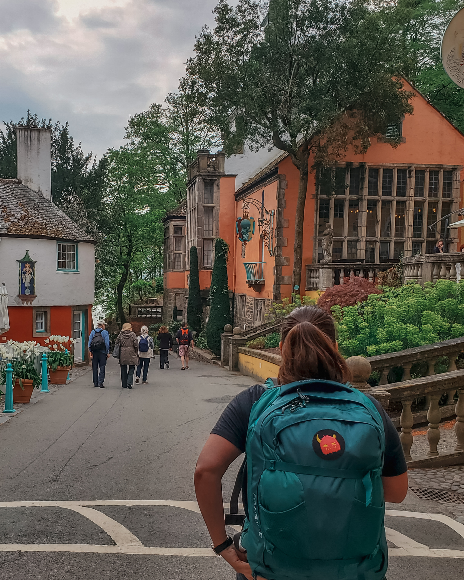 Exploring Portmeirion in North Wales