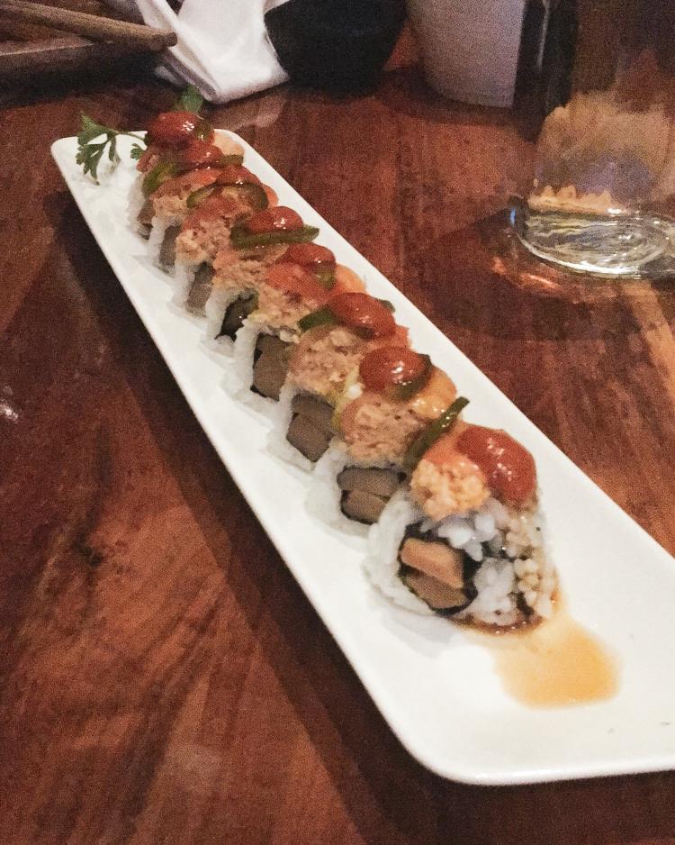 Vegan Sushi Roll from Shizen