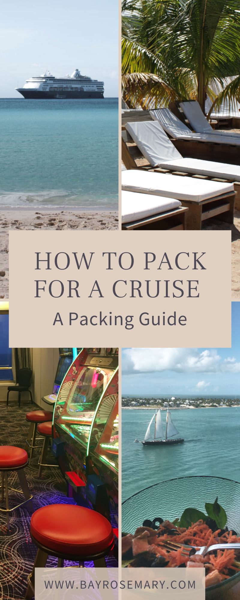 cruise packing list pin
