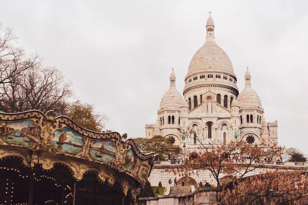 A view of Paris' Basilicia