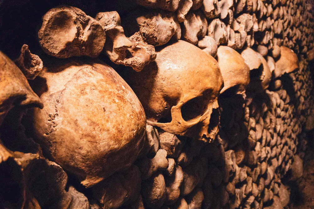 Add the Catacombs to your itinerary in Paris