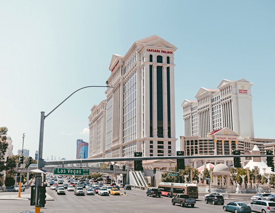 Enjoy the buffet at Caesars on your Las Vegas 3 Day Itinerary